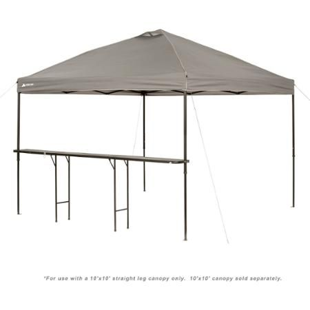 Ozark Trail Bar-Height 10' Folding Canopy Table
