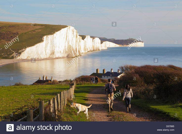 Resultado de imagen de Seaford Head South Downs East Sussex England UK