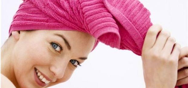 Saçlarınızı havluya sarmayın!