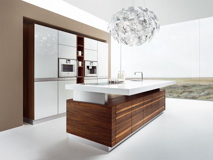 Wooden kitchen with island k7 by TEAM 7 Natürlich Wohnen | design Kai Stania