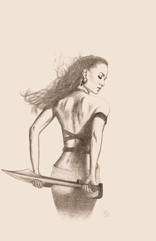 Gorgo Queen of Sparta - by ijahn on DeviantArt