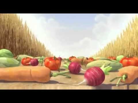 Hamster op jacht naar groente! - YouTube