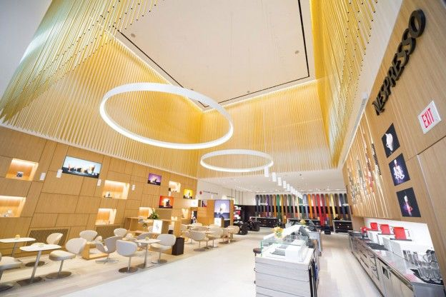 Introducing: Nespresso Boutique Bar, a 14,000-square-foot café and retail space in Yorkville from the Swiss coffee company - Gallery | toron...