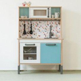 Klebefolie Trianglig Fuer Ikea Duktig Kueche Farbe Mint