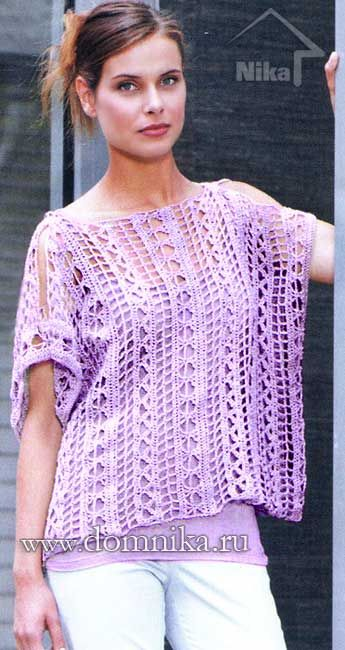 Beginner Crochet Top Patterns Free : Best 25+ Crochet tunic pattern ideas on Pinterest ...