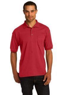 SanMar Gildan 8900, Gildan DryBlend 5.6-Ounce Jersey Knit Sport Shirt with Pocket.