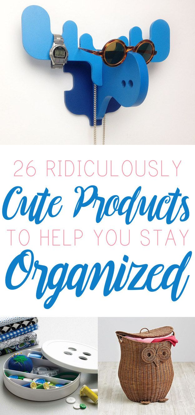 Who knew being organized could be so adorable?