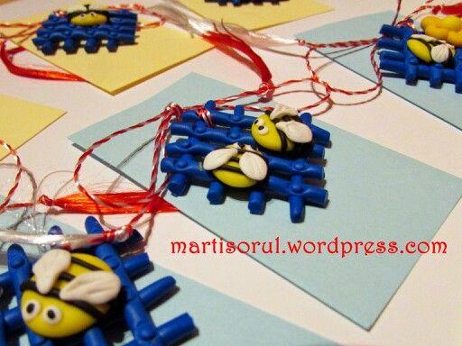 martisoare handmade 2015: albinutze