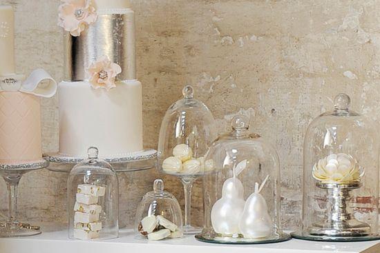 Industrial Chic Bridal Inspiration - Polka Dot Bride| Cake - One Sweet Girl