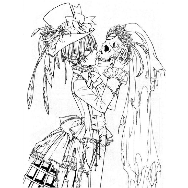 dessin a imprimer personnage manga em14 #ColoriageMangas ...