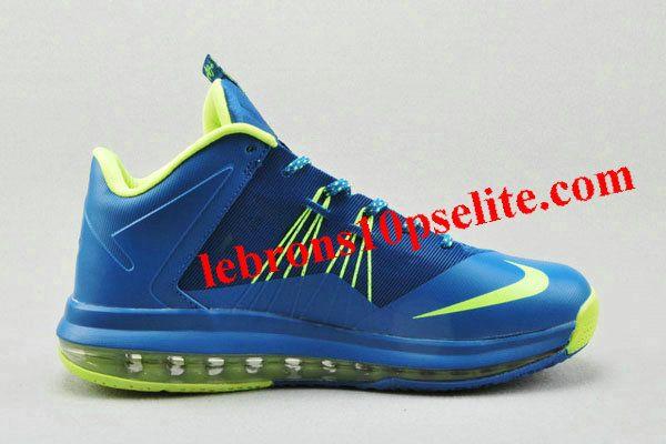 Nike Air Max Lebron X Low Blue/Green
