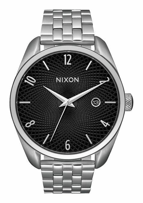 Nixon Women's Watch Bullet Bracelet Quartz A418 Black Silver Brand New In Box #NIXON #Luxury