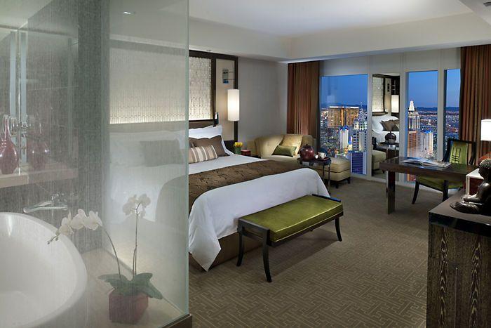 5 Star Cityscape Hotel Room | Mandarin Oriental, Las Vegas