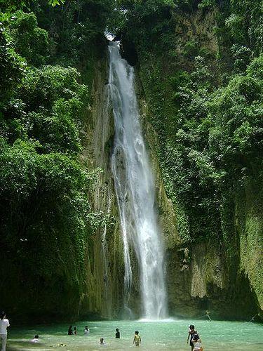 Mantayupan Falls in Cebu, Philippines