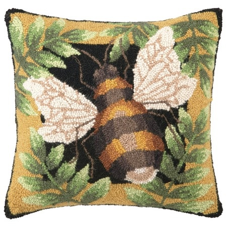 Bumblebee Pillow from the Birds & the Bees event at Joss and Main!: Bees Pillows, Bees Happy, Bumbleb Pillows, Big Bugs, Bumblebee Pillows, Bees Knee, Hooks Pillows, Honey Bees, Bees Buzz