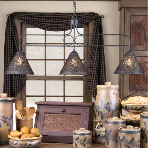 73 best rustic lighting ideas for my kitchen island images on pinterest. Black Bedroom Furniture Sets. Home Design Ideas