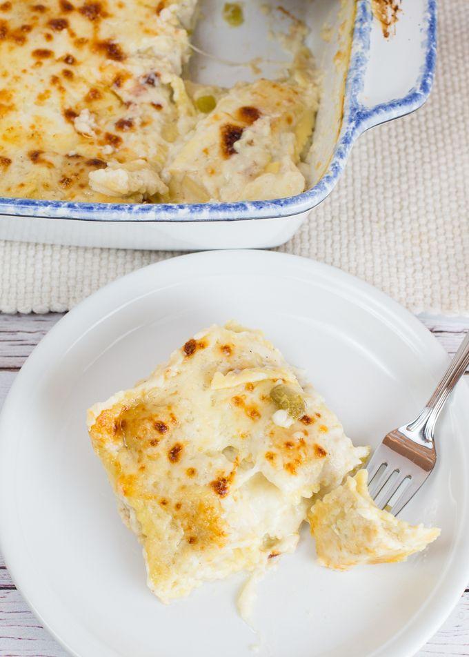 White Chicken Ravioli Bake, Omg, I need this in my life nooooow.