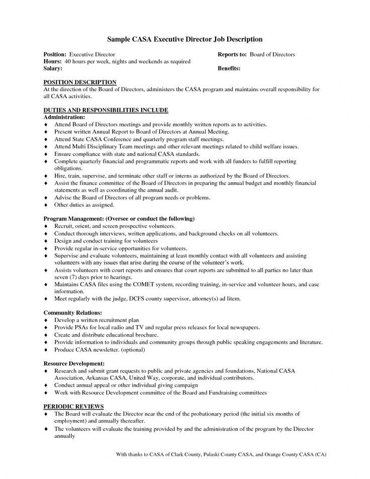 Board Report E Clerical Associate Job Description