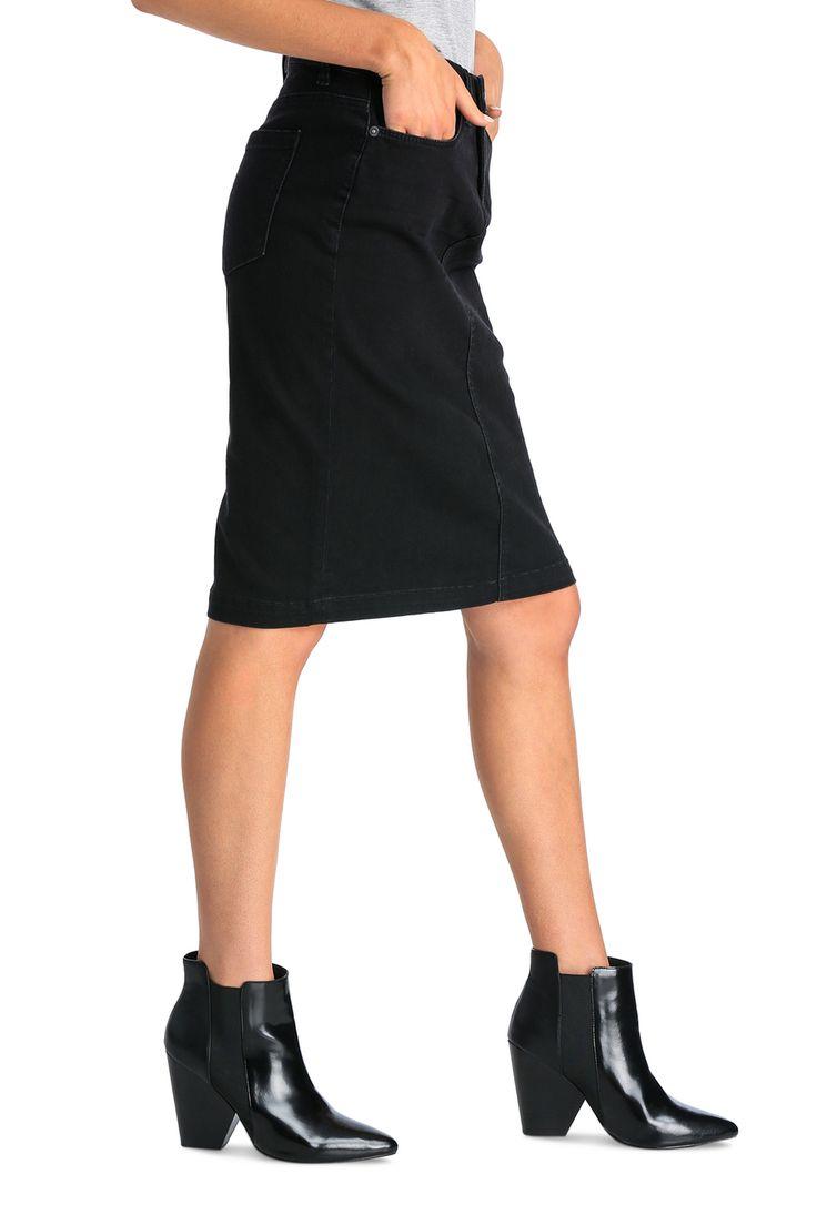Blank NYC - Post Party Depression Denim Skirt