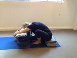 Marichyasana I  A Menstruation Sequence For Everyone   Central Yoga School