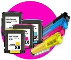 Not all toner cartridges include the drum and it is advisable to buy ones that do not include the drum because they are cheaper to maintain. Where the drum is present, the entire unit must be replaced during a refill. However, as discussed below, most printer ink toners are containers with toner powder.