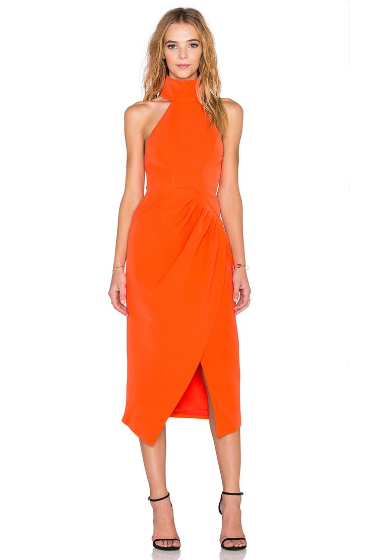 C/MEO Kiss Land Dress in Red