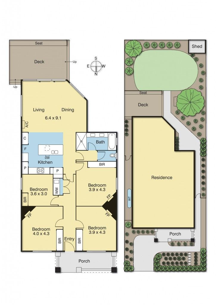 127 Gaffney Street, Coburg, Vic 3058 - floorplan