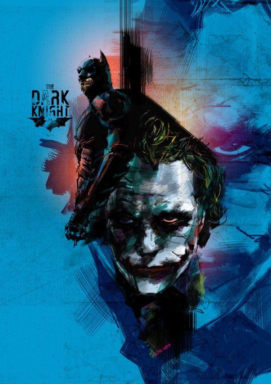 The Dark Knight by argemvinuya