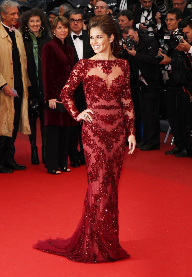 red dresses | ... looks stunning in beautiful red dress as she wows onlookers in Cannes