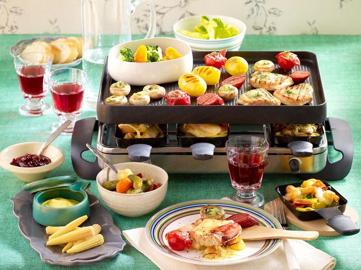 Heiligabend-Essen - genießen mit den Liebsten - schlemmer-raclette  Rezept