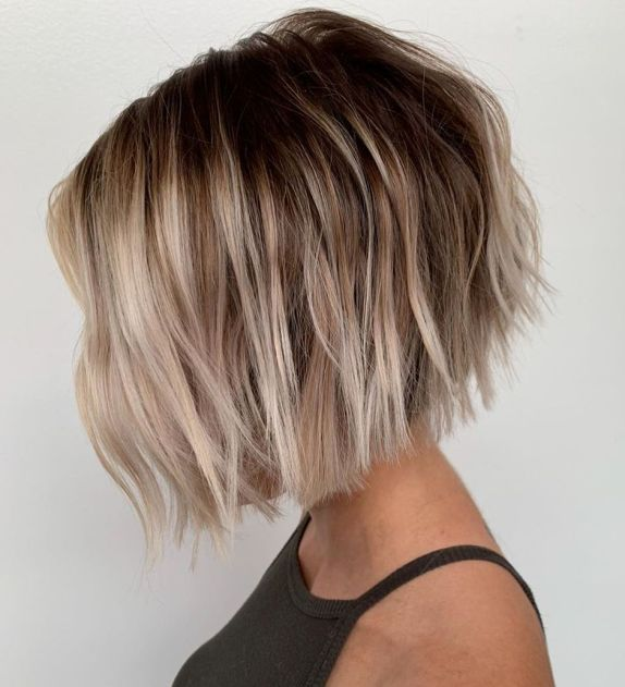 30 Easy And Cute Styling Ideas To Get Beach Waves For Short Hair Wavy Bob Haircuts Short Wavy Hair Short Hair Waves