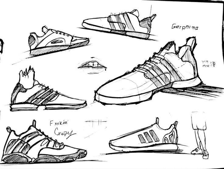Adidas concept sketch