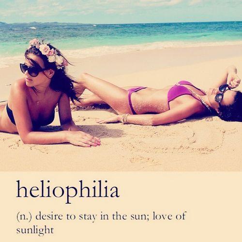 I love the #beach and the #sun. #summer