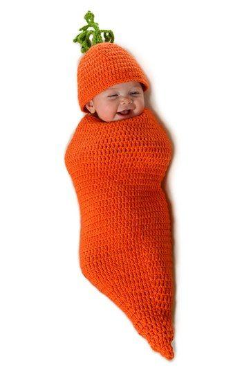 Cute lil' carrot costume