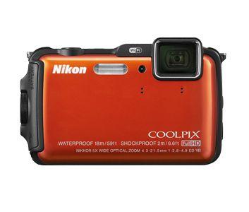 Nikon Europe B.V. - Digitalkameror - COOLPIX - kompaktkameror - Waterproof Shockproof - COOLPIX AW120 - Digital Cameras, D-SLR, COOLPIX, NIKKOR Lenses
