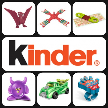 kinder 2013 new toy collection