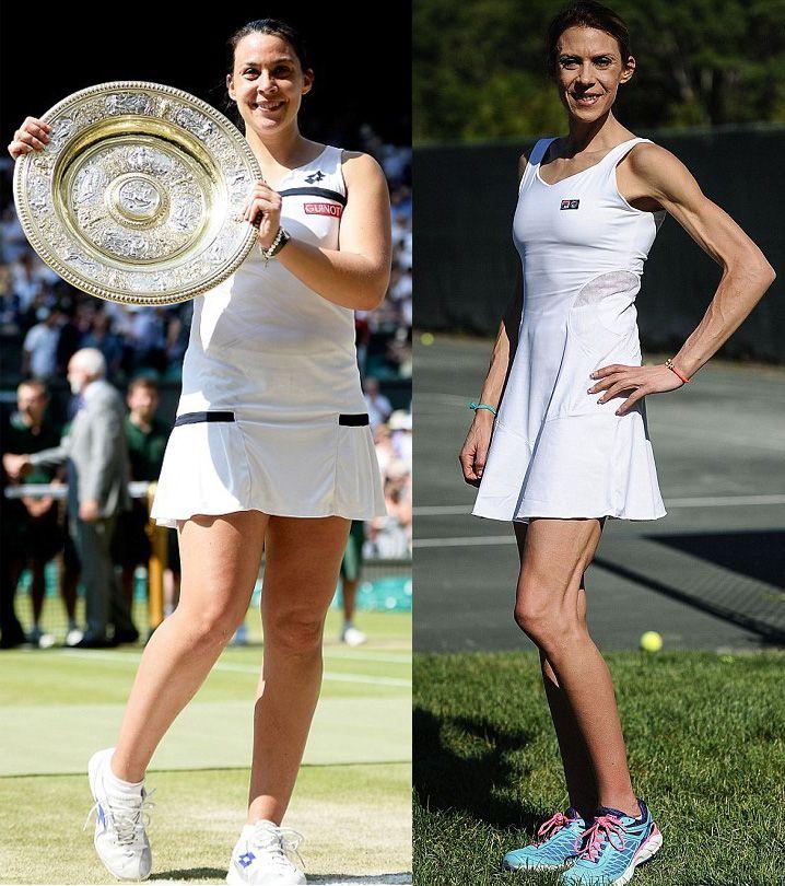 Tennis Star Marion Bartoli's Dramatic Weight Loss