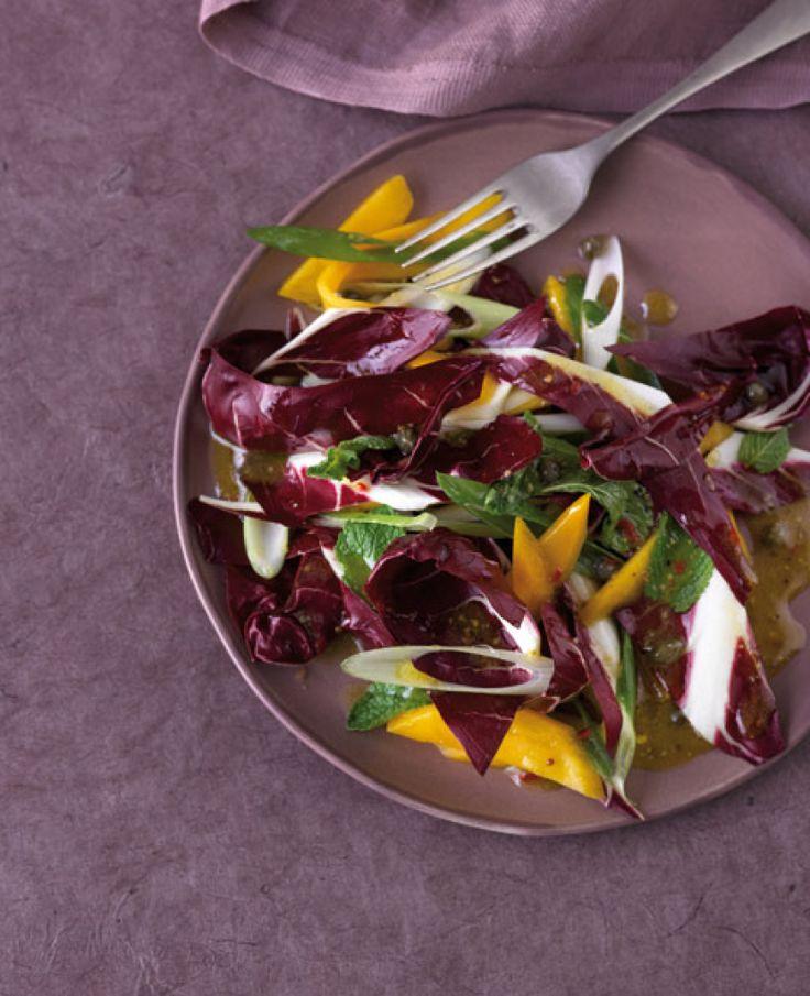 Radicchio-Salat mit Mango Rezept - ESSEN & TRINKEN