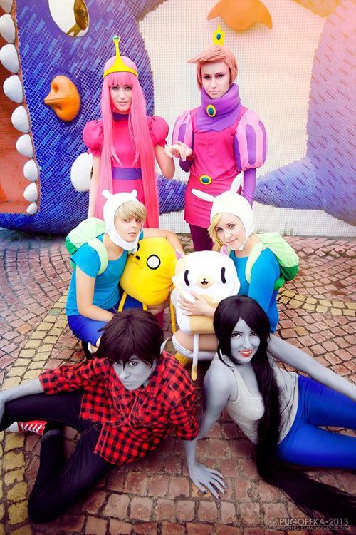 Adventure Time Group Cosplay Geekxgirls Articlephp