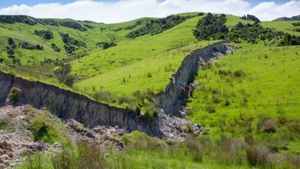 Earthquake: Pictures show huge walls of land rose after quake in Waiau | Stuff.co.nz