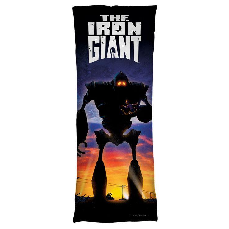 Iron Giant Poster Body Pillow