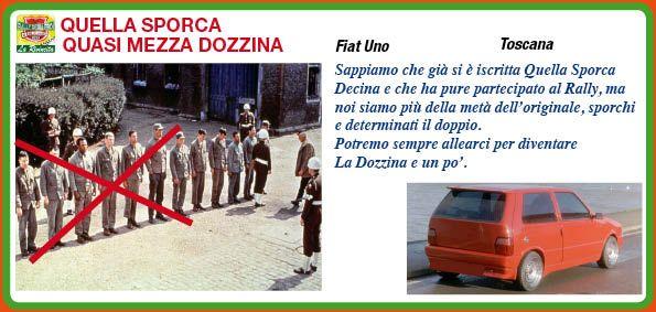 _MUD RANGERS (ex QUELLA SPORCA QUASI MEZZA DOZZINA) http://rallydeglieroilarivincita.blogspot.it/p/catalogo-degli-eroi.html #LaRivincita #RallydegliEroi @RobertoCattone