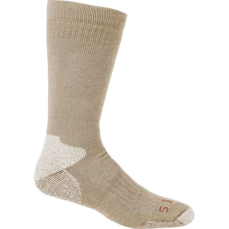 5.11 Tactical Cold Weather Over-the-Calf Socks, Coyote