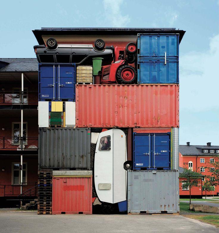 container architecture at NRW forum dsseldorf 29