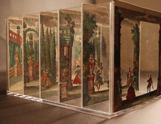 Tunnel Book, Martin Engelbrecht by Smithsonian Libraries, via Flickr