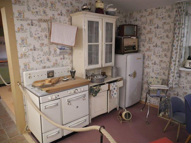 die 93 besten bilder zu 50er jahre wohnen auf pinterest | vintage ... - Küche 70er Stil