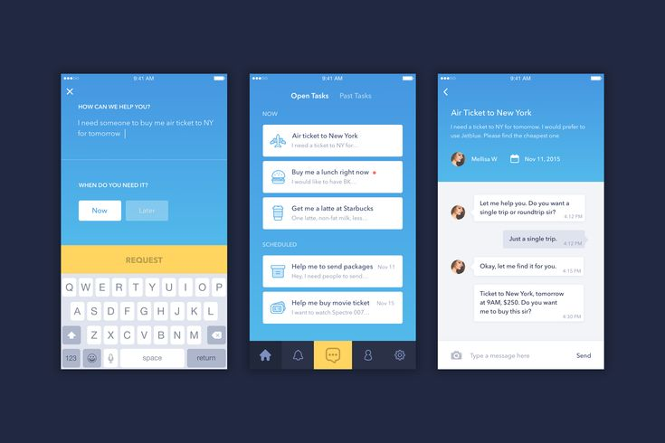 Personal Assistant app. #App #UserInterface #iOS