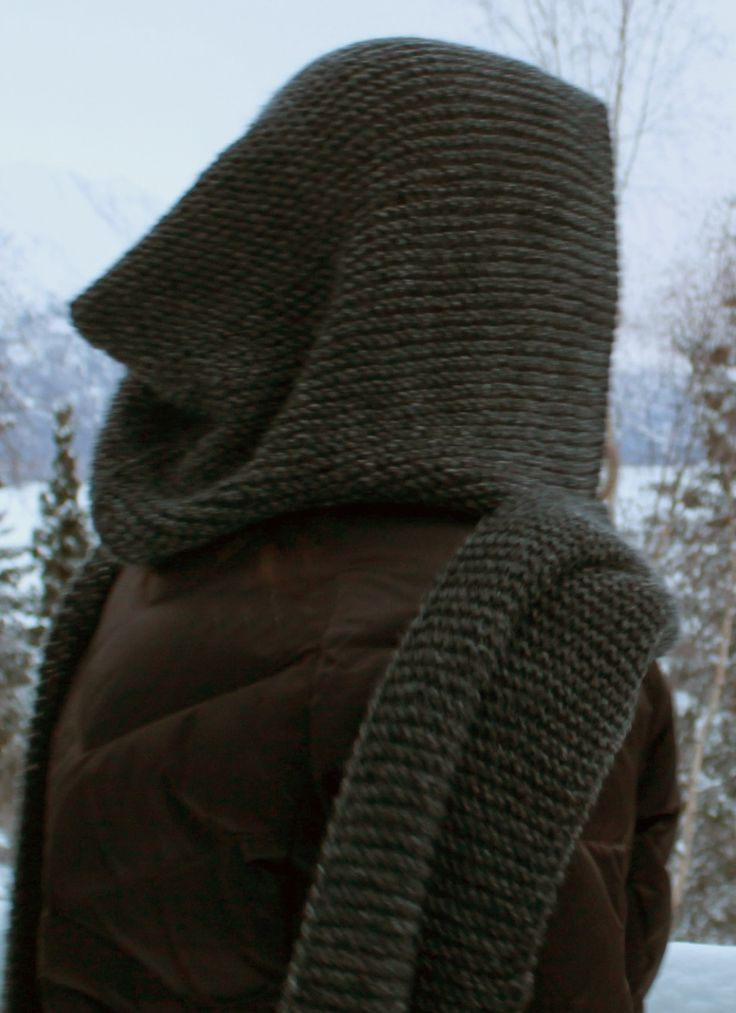 Free Knitting Pattern for Idlewild Garter Stitch Scarf - Idlewild Alaska's easy scarf is designed for garter stitch but you can easily adapt the pattern to your favorite stitch.