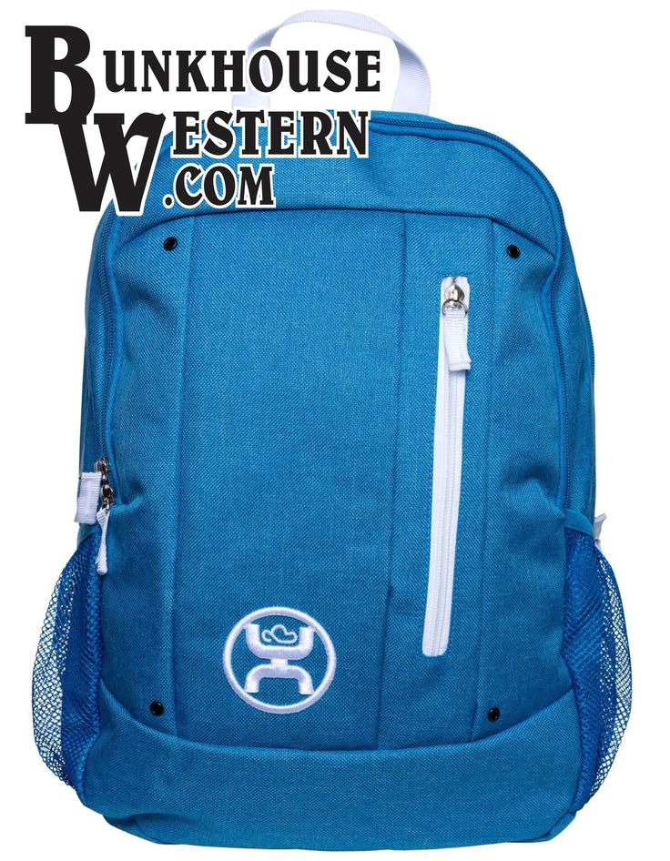 Hooey Blue Backpack, Book Bag, School Supplies, Cowboy, Rodeo, Western, $39.98, http://bunkhousewestern.com/8608
