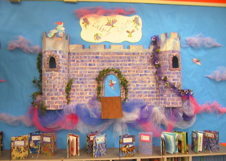 Special Castle for Katie's 2nd grade classroom